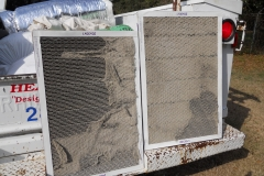 Air filters that were not changed
