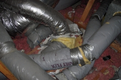 duct work in attic 2
