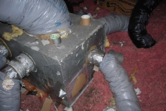 supply plenum in attic