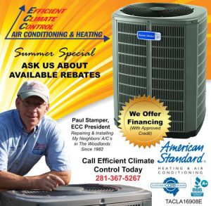 Efficient Climate Control American Standard ad