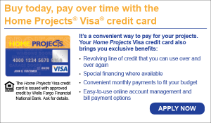 Home Projects VISA financing by Efficient Climate Control