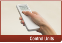 ductless-system remote Efficient Climate Control