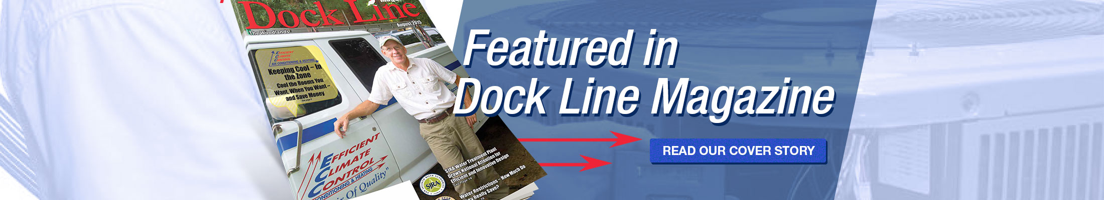 Efficient Climate Control featured in Dock Line Magazine