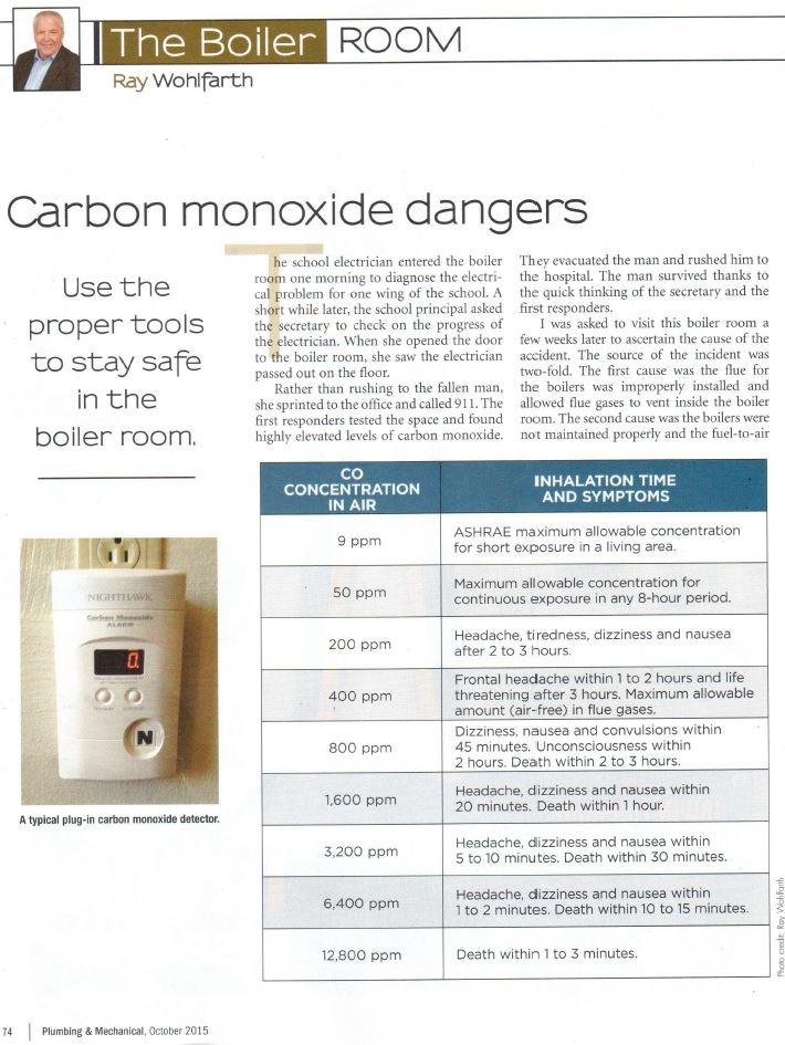 dangers of carbon monoxide The investigation is ongoing, but the cause is thought to be a result of carbon  monoxide poisoning (read the story, cbs affiliate wbtv reports:nc hotel.
